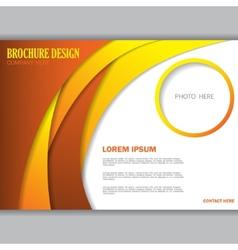 Background concept design for brochure vector