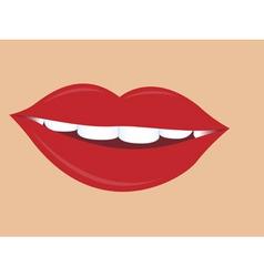 Women lips vector