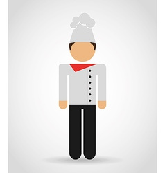 Chef man vector