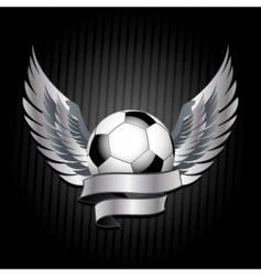 Football shield vector