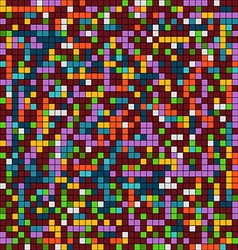 Abstract background of mosaic elements vector