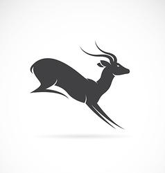 Image of deer design vector