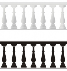 Balustrade vector
