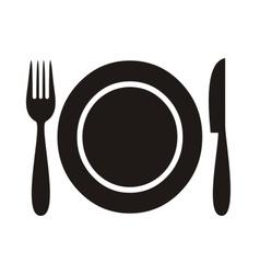 Restaurant menu icon vector