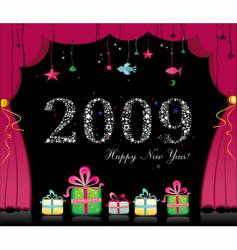 Happy new year image vector