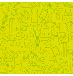 Background clothing and accessories vector