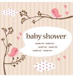 Baby template vector