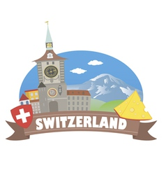 Switzerland vector