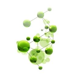 Green molecule vector