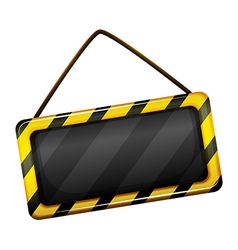An under construction signage vector