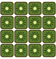 Seamless kiwi pattern vector
