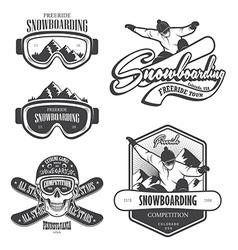 Snowboard 2 vector