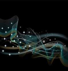 Abstract black background illustration vector