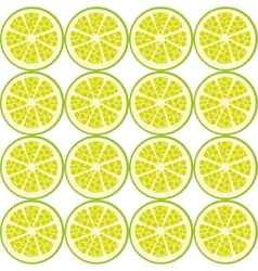 Seamless lime pattern vector