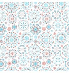 Snow pattern vector