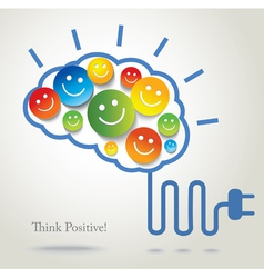 Positive thinking vector