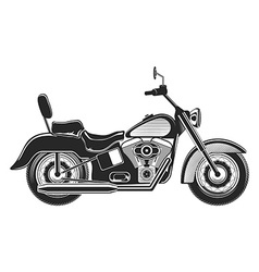 Motorcycle silhouette illlustration vector