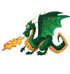 Magical dragon vector