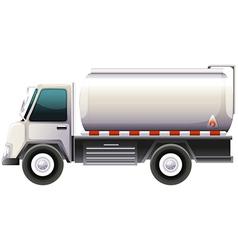 A gasoline truck vector