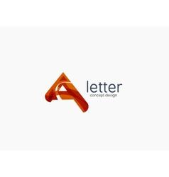 Modern a letter company logo vector