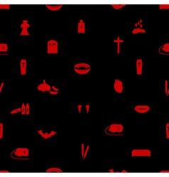 Vampire icon pattern eps10 vector