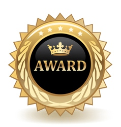 Award badge vector
