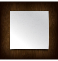Paper on wall vector