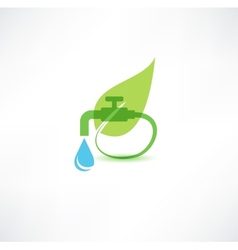 Natural and pure water vector