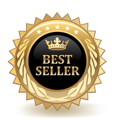 Best seller badge vector