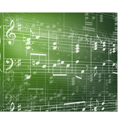 Music background with notes vector
