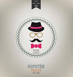 Hipster design 2 vector