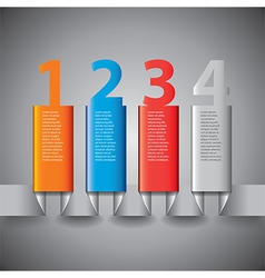 Infographics vertical columns vector