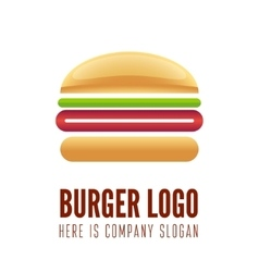 Logo label sticker or logotype element for fast vector