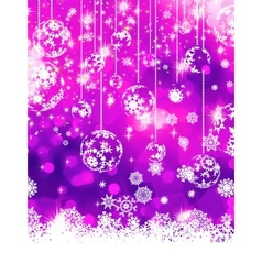 Purple christmas background eps 8 vector