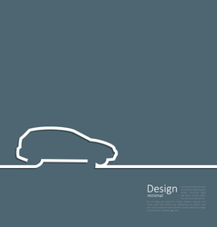 Laconic design of velocity vehicle car cleaness vector
