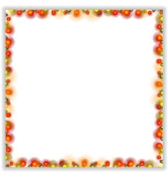 Abstract bright shiny frame vector