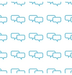 Unique dialog seamless pattern vector