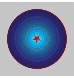 Corridor ilussion vector