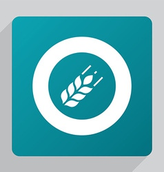 Flat agriculture icon vector