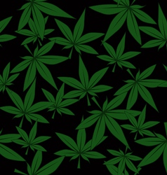 Marijuana pattern vector