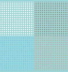 Seamless halftone dots vector