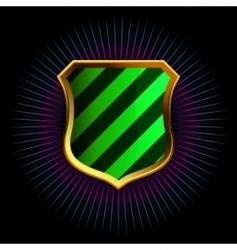 Decorative shields vector