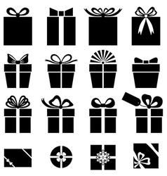 Gift set vector