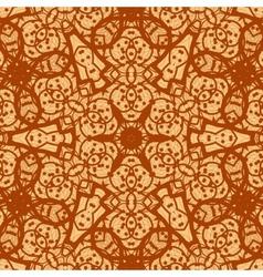 Seamless ornamental mandala background wallpaper vector