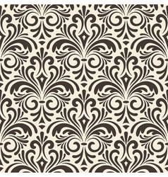 Seamless floral vintage pattern vector