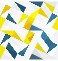 Seamless abstract triangles vector