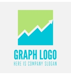 Minimal square design logo business icon vector