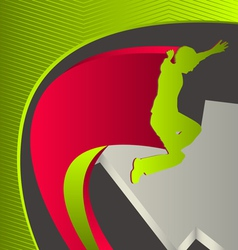 Sport background vector