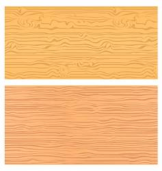 Seamless wood textures vector