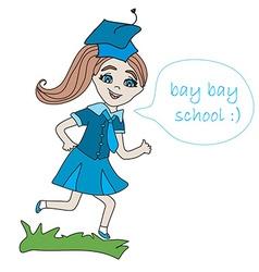 Bay bay school vector
